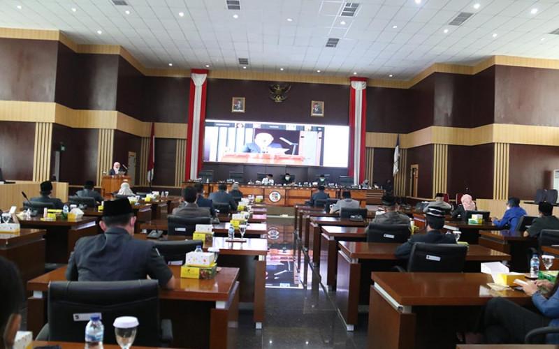 Masa Sidang Ke Dua Tahun Sidang 2021 : DPRD KOTA BOGOR AKAN BAHAS TIGA RAPERDA