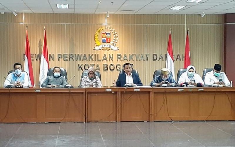 Pansus LKPJ DPRD Kota Bogor Gelar Rapat Kerja Dengan Stecholder