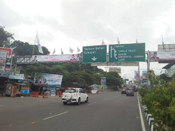 Minggu Pertama Bulan Ramadan, Jalur Puncak Bogor Lengang