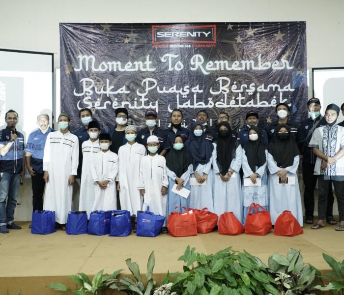 Peringati HUT Ke-3, Serenity Gelar Buka Puasa Bersama dan Santunan Yatim Piatu