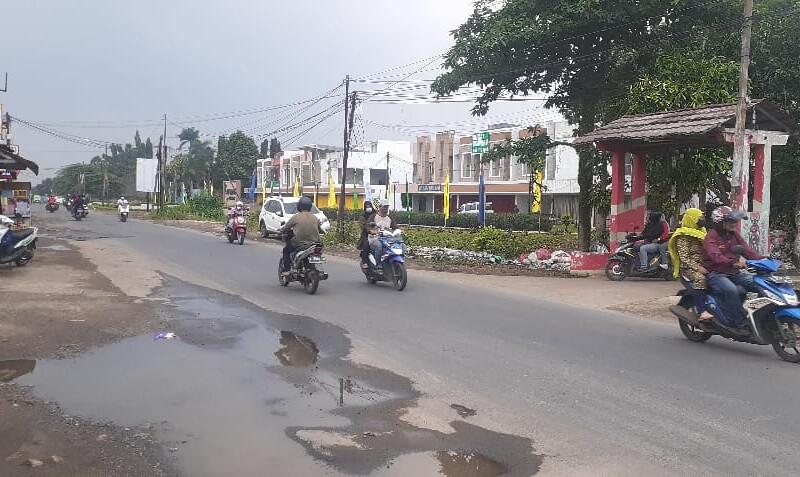 Wancana Pedestrian di Lahan Eks Bangli Salabenda Terlihat Kumuh