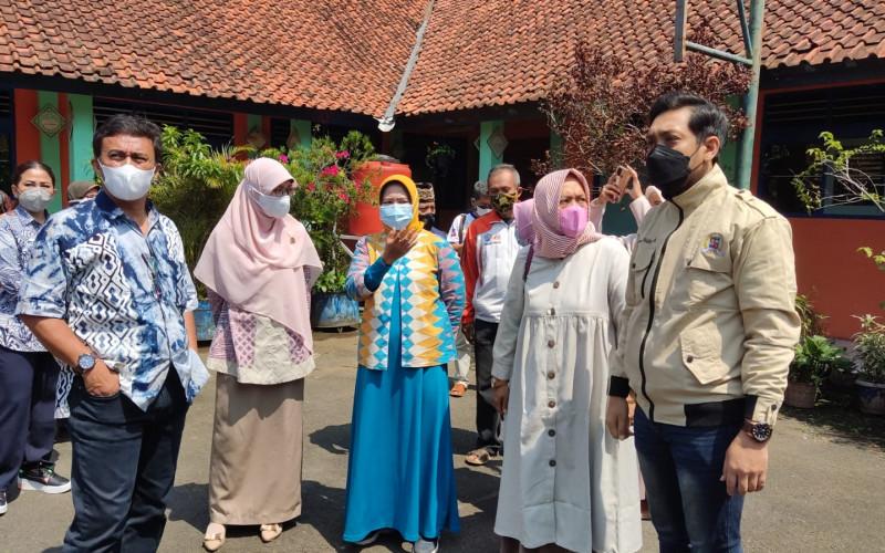 Komisi IV DPRD Kota Bogor Tinjau Lokasi SDN Otista yang Ambruk