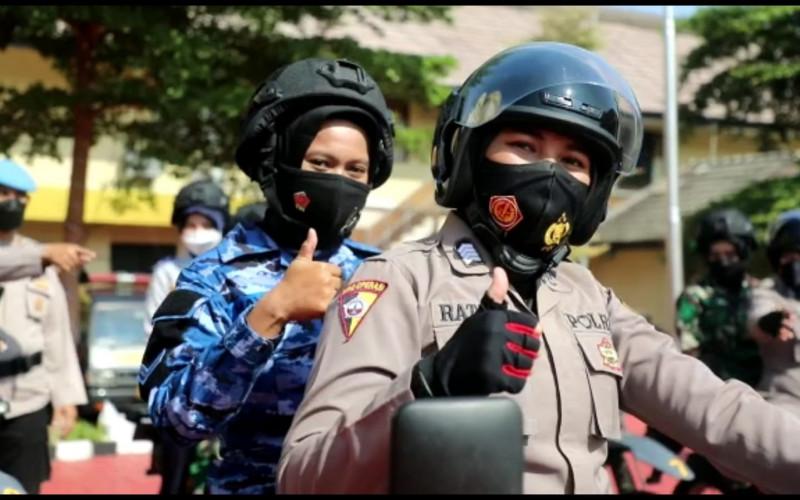 Polresta Bentuk Perempuan Tim Pemburu Vaksinasi Bagi Masyarakat di Kota Bogor