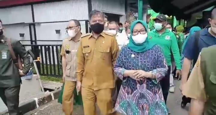 Bupati dan Wakil Bupati Bogor Kunjungi Saba Desa di Wilayah Nanggung